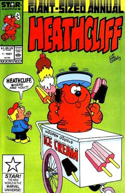 Heathcliff Annual #1 comic books for sale