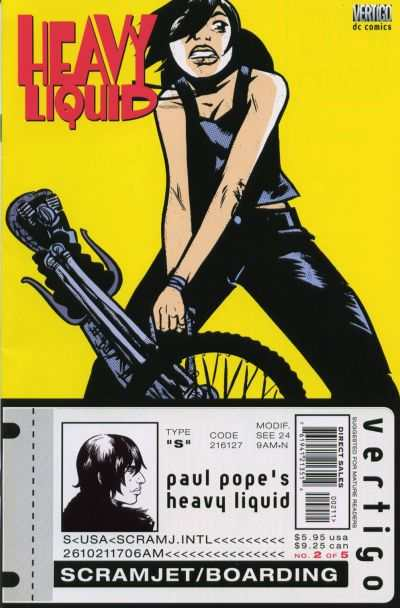 Heavy Liquid #2 Comic Books - Covers, Scans, Photos  in Heavy Liquid Comic Books - Covers, Scans, Gallery