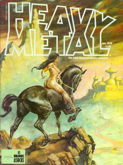 Heavy Metal: Volume 1 #10 Comic Books - Covers, Scans, Photos  in Heavy Metal: Volume 1 Comic Books - Covers, Scans, Gallery