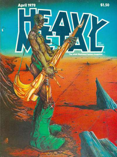 Heavy Metal: Volume 1 #13 comic books - cover scans photos Heavy Metal: Volume 1 #13 comic books - covers, picture gallery