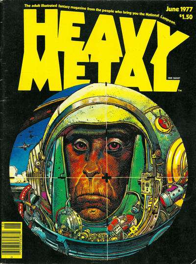 Heavy Metal: Volume 1 #3 Comic Books - Covers, Scans, Photos  in Heavy Metal: Volume 1 Comic Books - Covers, Scans, Gallery