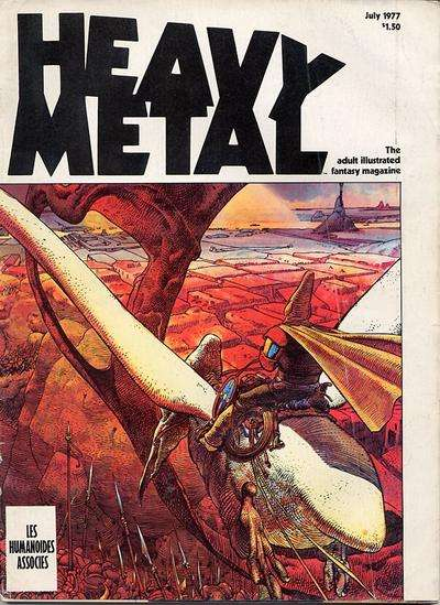 Heavy Metal: Volume 1 #4 Comic Books - Covers, Scans, Photos  in Heavy Metal: Volume 1 Comic Books - Covers, Scans, Gallery