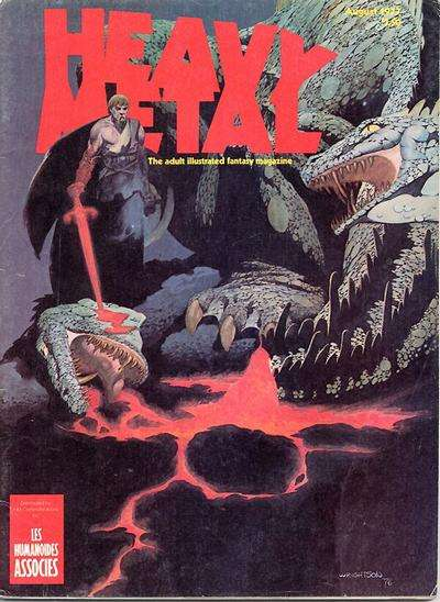 Heavy Metal: Volume 1 #5 Comic Books - Covers, Scans, Photos  in Heavy Metal: Volume 1 Comic Books - Covers, Scans, Gallery