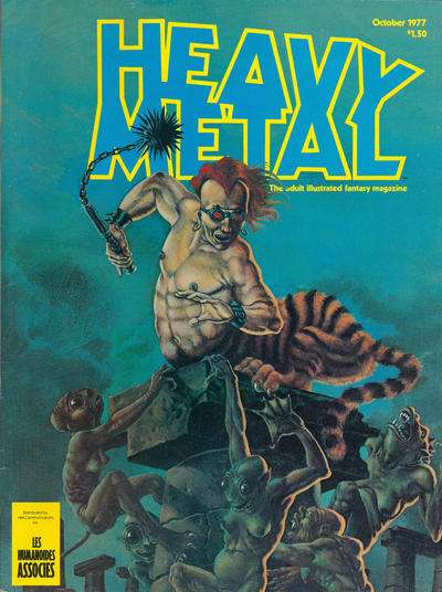 Heavy Metal: Volume 1 #7 comic books - cover scans photos Heavy Metal: Volume 1 #7 comic books - covers, picture gallery