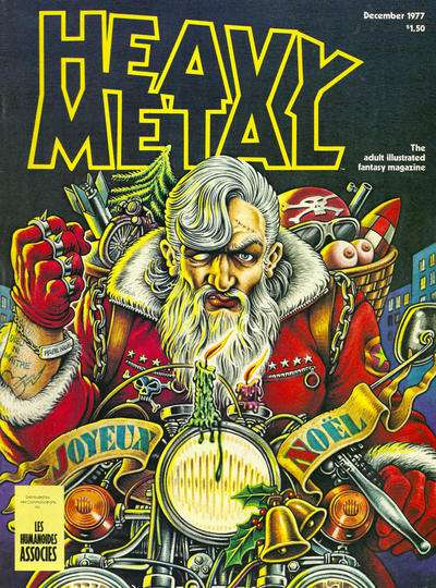 Heavy Metal: Volume 1 #9 comic books - cover scans photos Heavy Metal: Volume 1 #9 comic books - covers, picture gallery