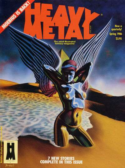 Heavy Metal: Volume 10 #1 comic books - cover scans photos Heavy Metal: Volume 10 #1 comic books - covers, picture gallery