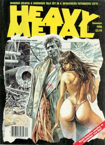 Heavy Metal: Volume 10 #2 Comic Books - Covers, Scans, Photos  in Heavy Metal: Volume 10 Comic Books - Covers, Scans, Gallery