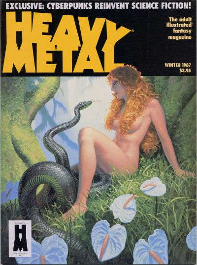 Heavy Metal: Volume 10 #4 Comic Books - Covers, Scans, Photos  in Heavy Metal: Volume 10 Comic Books - Covers, Scans, Gallery