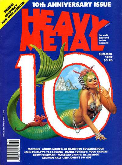 Heavy Metal: Volume 11 #2 comic books for sale