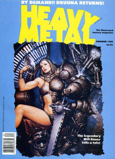Heavy Metal: Volume 12 #2 comic books - cover scans photos Heavy Metal: Volume 12 #2 comic books - covers, picture gallery