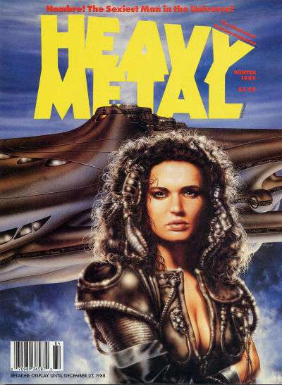 Heavy Metal: Volume 12 #4 Comic Books - Covers, Scans, Photos  in Heavy Metal: Volume 12 Comic Books - Covers, Scans, Gallery
