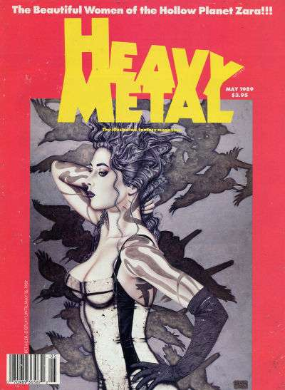 Heavy Metal: Volume 13 #2 Comic Books - Covers, Scans, Photos  in Heavy Metal: Volume 13 Comic Books - Covers, Scans, Gallery