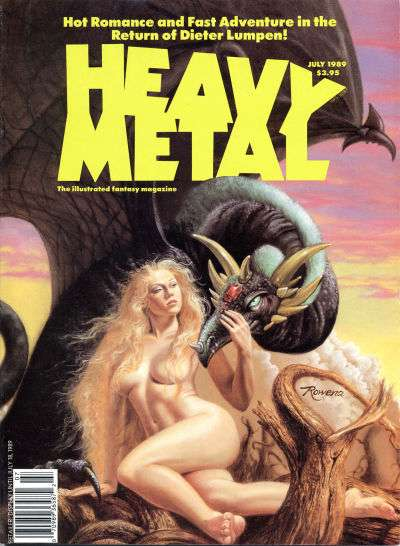 Heavy Metal: Volume 13 #3 comic books - cover scans photos Heavy Metal: Volume 13 #3 comic books - covers, picture gallery