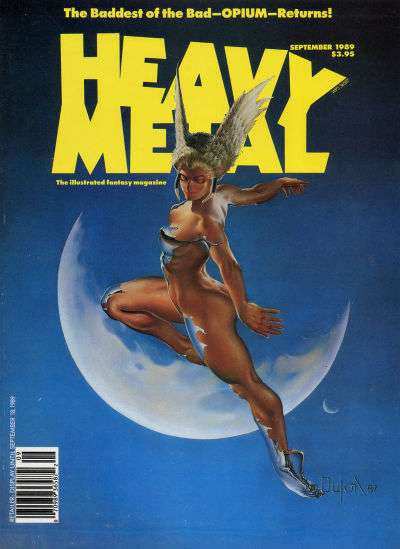Heavy Metal: Volume 13 #4 Comic Books - Covers, Scans, Photos  in Heavy Metal: Volume 13 Comic Books - Covers, Scans, Gallery