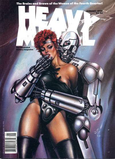 Heavy Metal: Volume 13 #6 Comic Books - Covers, Scans, Photos  in Heavy Metal: Volume 13 Comic Books - Covers, Scans, Gallery