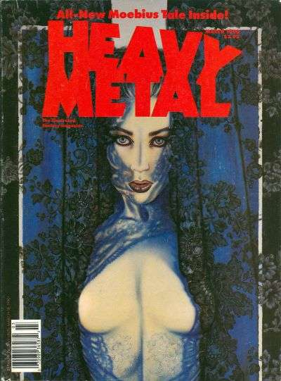 Heavy Metal: Volume 14 #1 comic books - cover scans photos Heavy Metal: Volume 14 #1 comic books - covers, picture gallery