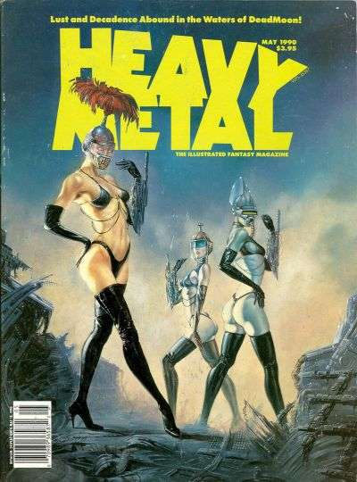 Heavy Metal: Volume 14 #2 Comic Books - Covers, Scans, Photos  in Heavy Metal: Volume 14 Comic Books - Covers, Scans, Gallery