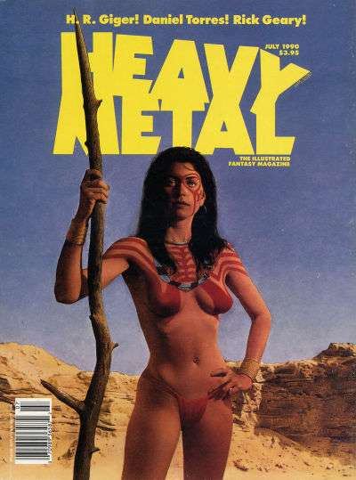 Heavy Metal: Volume 14 #3 Comic Books - Covers, Scans, Photos  in Heavy Metal: Volume 14 Comic Books - Covers, Scans, Gallery