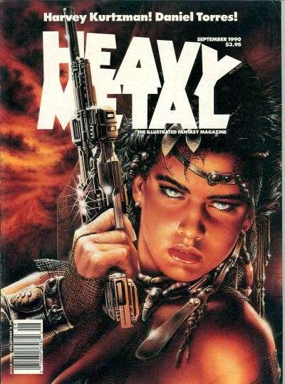 Heavy Metal: Volume 14 #4 Comic Books - Covers, Scans, Photos  in Heavy Metal: Volume 14 Comic Books - Covers, Scans, Gallery