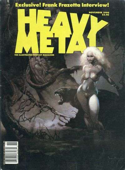 Heavy Metal: Volume 14 #5 Comic Books - Covers, Scans, Photos  in Heavy Metal: Volume 14 Comic Books - Covers, Scans, Gallery