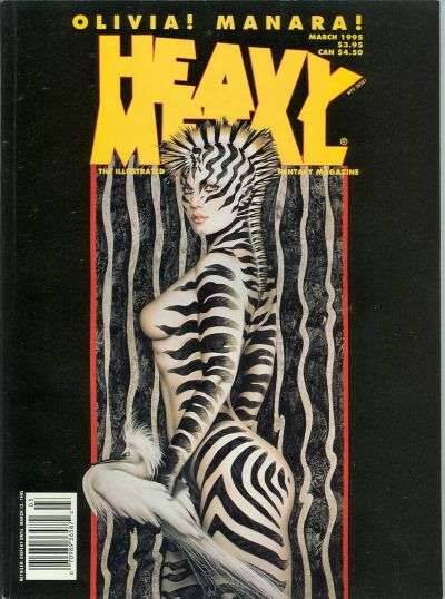Heavy Metal: Volume 19 #1 comic books for sale