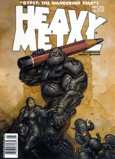 Heavy Metal: Volume 19 #2 Comic Books - Covers, Scans, Photos  in Heavy Metal: Volume 19 Comic Books - Covers, Scans, Gallery