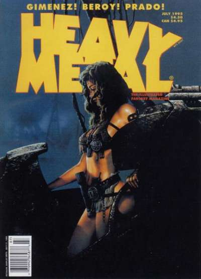 Heavy Metal: Volume 19 #3 Comic Books - Covers, Scans, Photos  in Heavy Metal: Volume 19 Comic Books - Covers, Scans, Gallery
