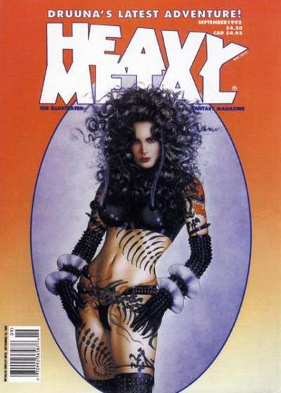 Heavy Metal: Volume 19 #4 Comic Books - Covers, Scans, Photos  in Heavy Metal: Volume 19 Comic Books - Covers, Scans, Gallery