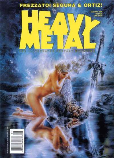 Heavy Metal: Volume 19 #6 Comic Books - Covers, Scans, Photos  in Heavy Metal: Volume 19 Comic Books - Covers, Scans, Gallery