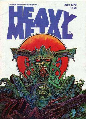 Heavy Metal: Volume 2 #1 comic books - cover scans photos Heavy Metal: Volume 2 #1 comic books - covers, picture gallery