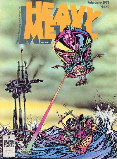 Heavy Metal: Volume 2 #10 comic books - cover scans photos Heavy Metal: Volume 2 #10 comic books - covers, picture gallery