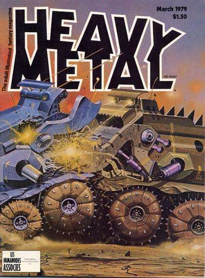 Heavy Metal: Volume 2 #11 Comic Books - Covers, Scans, Photos  in Heavy Metal: Volume 2 Comic Books - Covers, Scans, Gallery