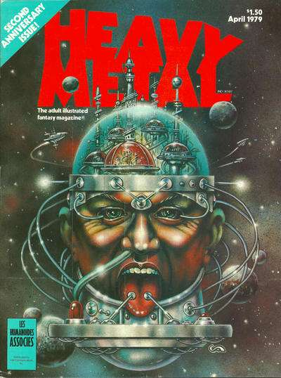 Heavy Metal: Volume 2 #12 Comic Books - Covers, Scans, Photos  in Heavy Metal: Volume 2 Comic Books - Covers, Scans, Gallery
