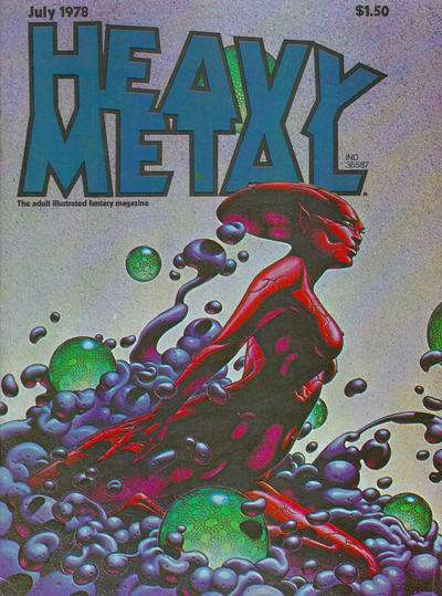 Heavy Metal: Volume 2 #3 comic books - cover scans photos Heavy Metal: Volume 2 #3 comic books - covers, picture gallery