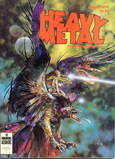 Heavy Metal: Volume 2 #4 comic books - cover scans photos Heavy Metal: Volume 2 #4 comic books - covers, picture gallery
