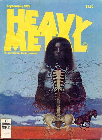 Heavy Metal: Volume 2 #5 comic books - cover scans photos Heavy Metal: Volume 2 #5 comic books - covers, picture gallery