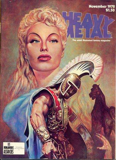 Heavy Metal: Volume 2 #7 Comic Books - Covers, Scans, Photos  in Heavy Metal: Volume 2 Comic Books - Covers, Scans, Gallery