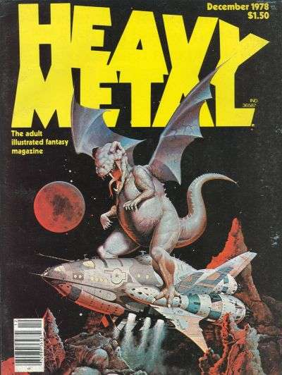 Heavy Metal: Volume 2 #8 Comic Books - Covers, Scans, Photos  in Heavy Metal: Volume 2 Comic Books - Covers, Scans, Gallery