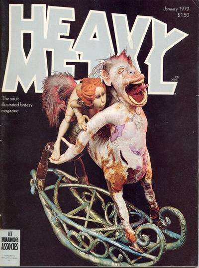 Heavy Metal: Volume 2 #9 comic books - cover scans photos Heavy Metal: Volume 2 #9 comic books - covers, picture gallery