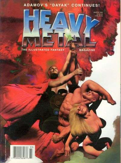 Heavy Metal: Volume 20 comic books