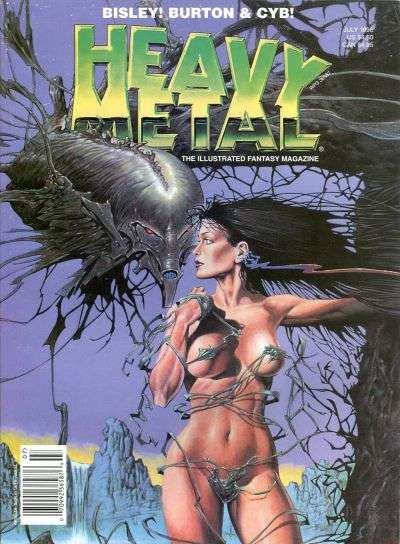 Heavy Metal: Volume 20 #3 comic books - cover scans photos Heavy Metal: Volume 20 #3 comic books - covers, picture gallery