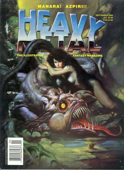 Heavy Metal: Volume 20 #4 comic books - cover scans photos Heavy Metal: Volume 20 #4 comic books - covers, picture gallery
