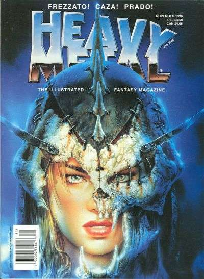 Heavy Metal: Volume 20 #5 comic books - cover scans photos Heavy Metal: Volume 20 #5 comic books - covers, picture gallery