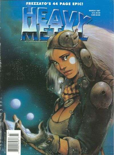Heavy Metal: Volume 21 #1 comic books - cover scans photos Heavy Metal: Volume 21 #1 comic books - covers, picture gallery