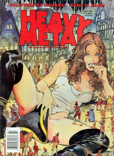 Heavy Metal: Volume 21 #3 comic books - cover scans photos Heavy Metal: Volume 21 #3 comic books - covers, picture gallery