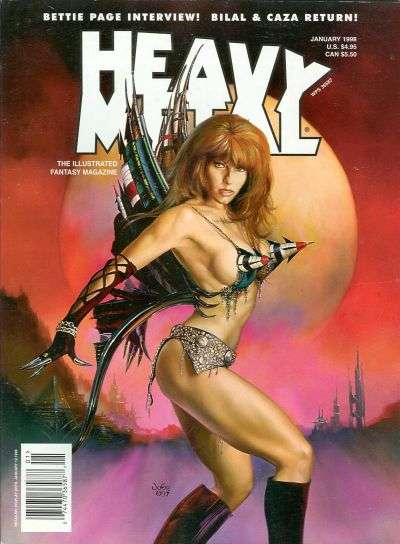 Heavy Metal: Volume 21 #6 Comic Books - Covers, Scans, Photos  in Heavy Metal: Volume 21 Comic Books - Covers, Scans, Gallery