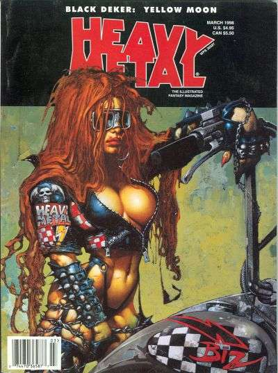 Heavy Metal: Volume 22 comic books