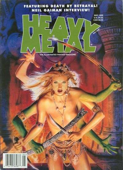 Heavy Metal: Volume 22 #2 comic books for sale