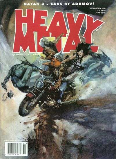 Heavy Metal: Volume 22 #5 Comic Books - Covers, Scans, Photos  in Heavy Metal: Volume 22 Comic Books - Covers, Scans, Gallery