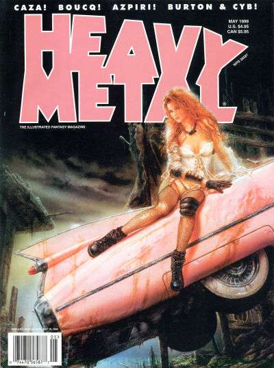 Heavy Metal: Volume 23 #2 Comic Books - Covers, Scans, Photos  in Heavy Metal: Volume 23 Comic Books - Covers, Scans, Gallery
